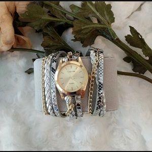 Carude Womens Wrap Watch